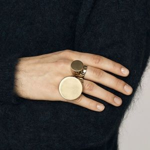 fe415938a804f Madewell solid circle Rings NWT